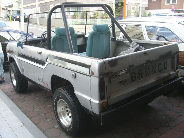 FORD Early Bronco フォード アーリーブロンコ 新車 中古車 デソート