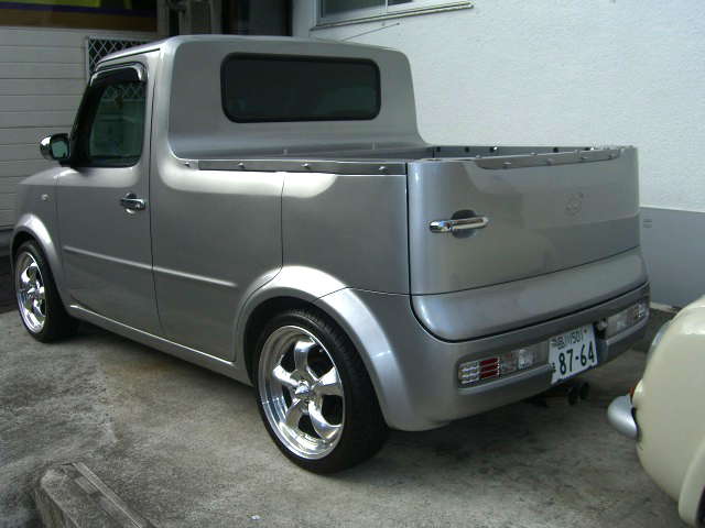 NISSAN cube pickup キューブピックアップ 限定 新車 中古車 デソート