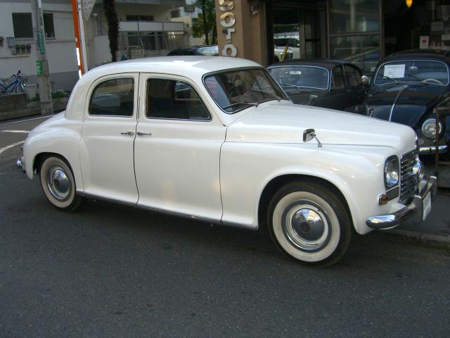 Rover P40  double doors, restored ローバー 観音開き レストア済 新車 中古車 デソート