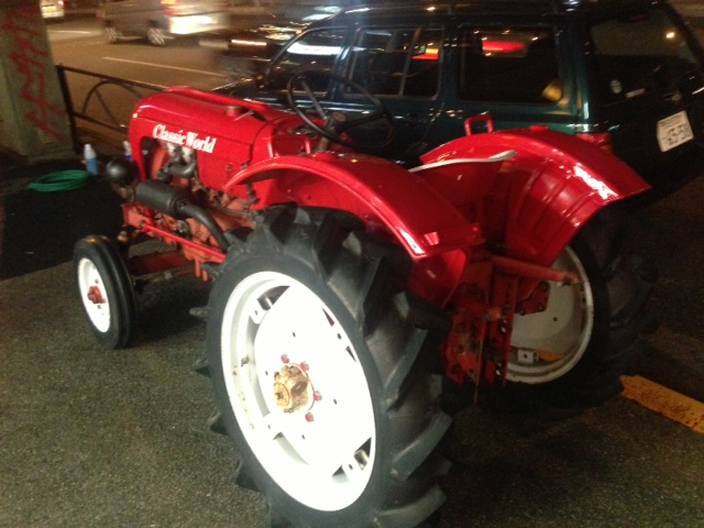 ISEKI TRACTOR PORSHE LOOK イセキ トラクター ポルシェルック 新車 中古車 デソート